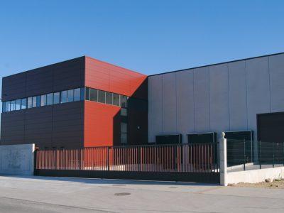 nave industrial sector de distribución de alimentación en galicia